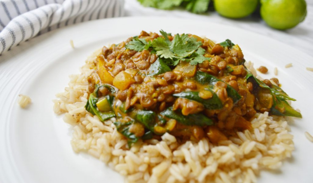 creamy curry of lentils