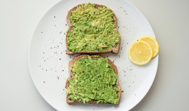 Avocado toasts for Snacking During Pregnancy